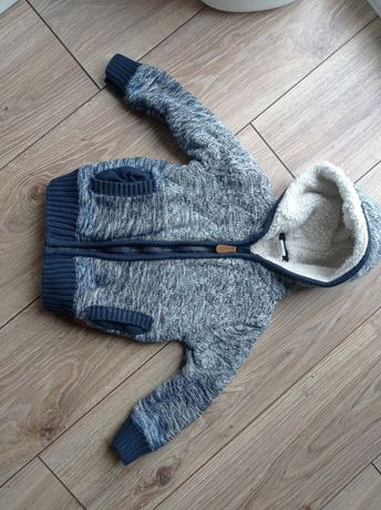 Cool club smyk sweterek ocieplany 104