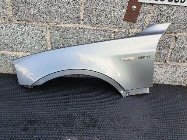 Blotnik Nadkole Przod Przedni Lewy A08/7 BMW X3 E83 Silbergrau Metalic