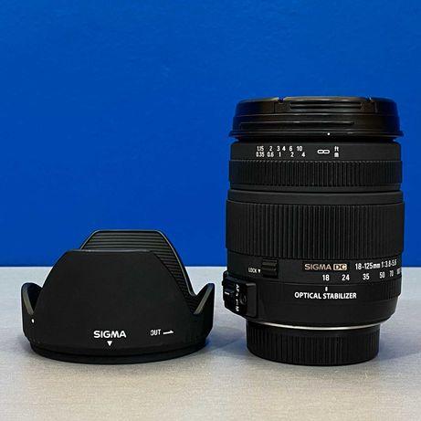 Sigma 18-125mm f/3.8-5.6 EX DC OS HSM (Nikon)