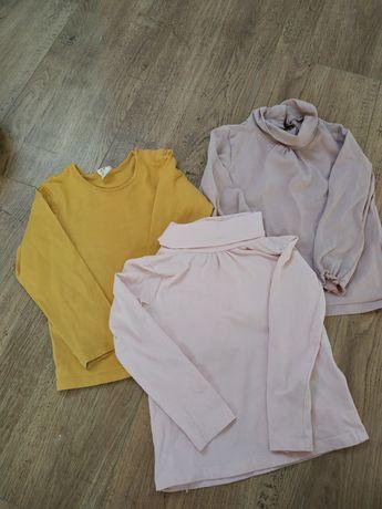 Zestaw bluzeczek H&M Basic roz 92-98