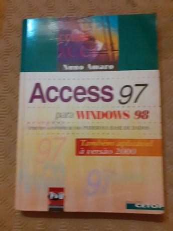 Access 97 para Windows 98 - Nuno Amaro