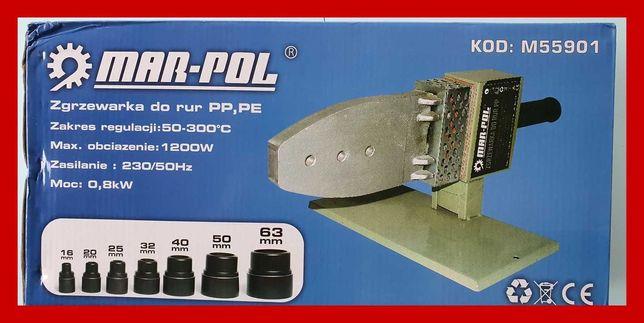 Nowa zgrzewarka do rur 24m-ce gwarancji 7 kamieni 16-63mm