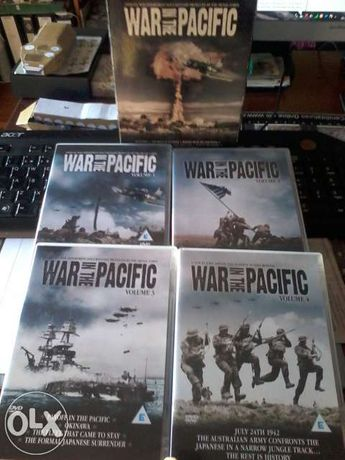 War in the pacific 4 dvd collector's edition