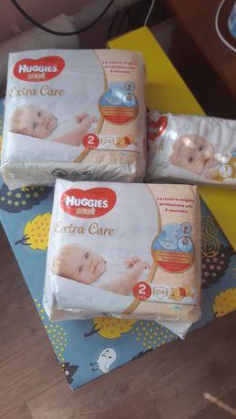 Подгузники Huggies Extra care 2 размер
