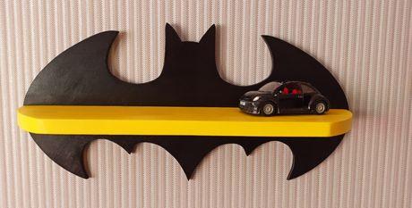 Детская полка Бэтмен деревянная ручной работы