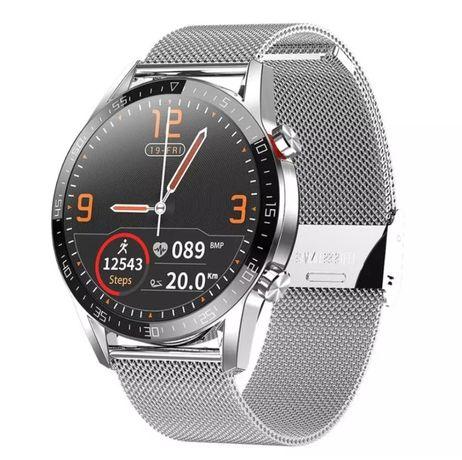 Smartwatch Lemfo modelo L13 (Faz chamadas telefónicas Recebe mensagens