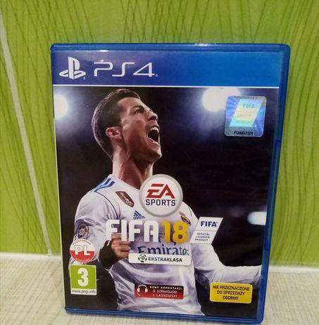 Gra PS4, FIFA 18