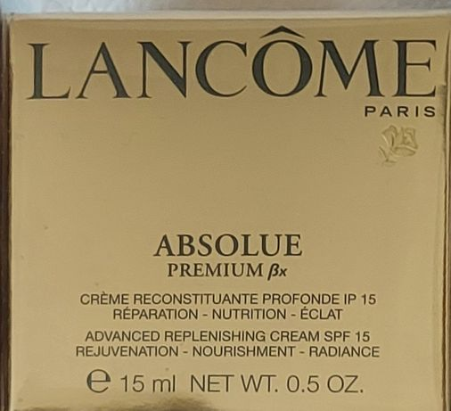 Krem lancome absolue premium spf 15 15ml