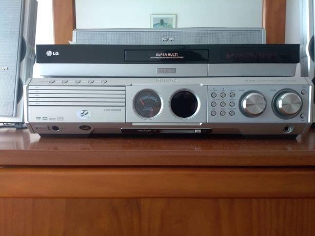 PROMOÇÃO Sistema de som/Leitor de cds/Radio FM/AM Philips