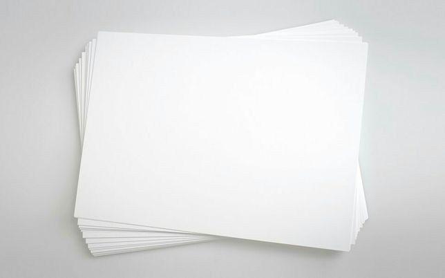 Бумага А4 офисная белая для принтера 100 листов = 50 руб.