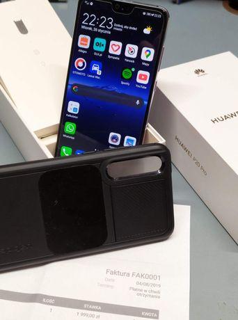 Huawei P20 Pro jak NOWY 6GB / 128GB, Kirin 970, Spiggen + Szkło