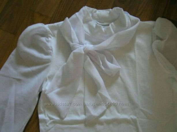 Гольф - блузка школьная р.146 - 550 руб.