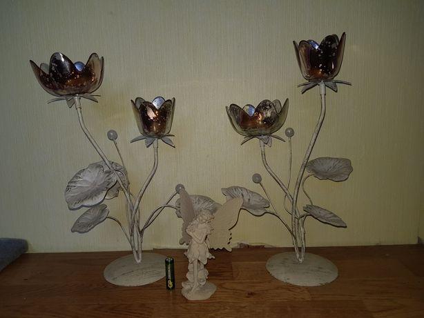 Подсвечники/цветы/декор для дома