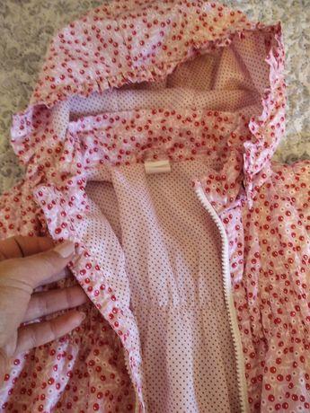 Kurteczka płaszczyk przejsciowy na wiosnę H&M