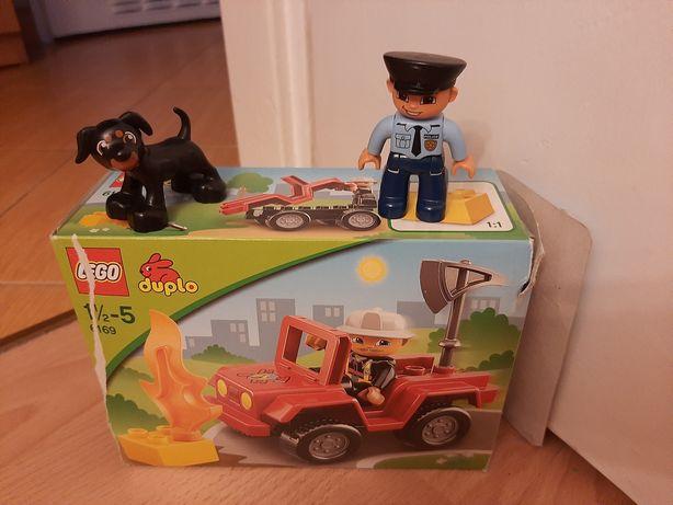 Klocki Lego duplo zestaw 6169 dowódca straży
