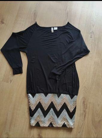 Czarna sukienka Bodyflirt uniwersalna