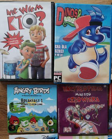 Sprzedam 16 płyt edukacyjnych dla dzieci (gry, nauka, karaoke)