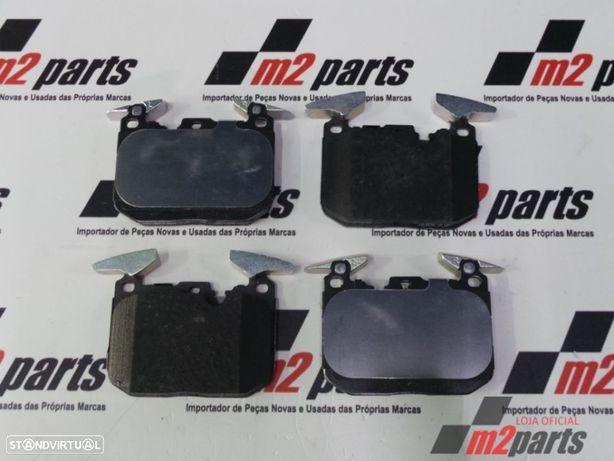 Calços travão M Sport Cor Unica Frente BMW 1 (F20)/BMW 1 (F21)/BMW 2 Coupe (F22,...