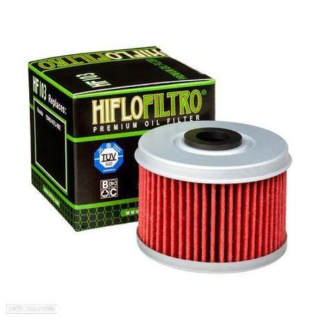 hf103 filtro oleo hiflofiltro hf-103  honda crf 250 - cb 300