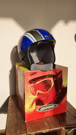 Шлем горнолыжный, детский, Alpina Carat. Размер 48-52.
