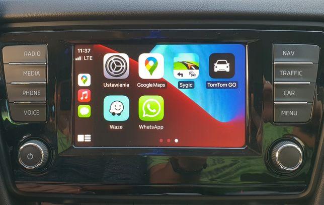 Audi VW Skoda Seat AppleCar AndroidAuto Mirror Link MIB2 Nawigacja