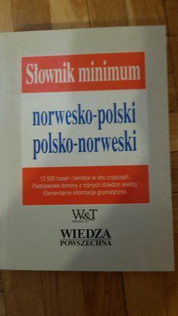 Słownik minimum norwesko-pol, pol-norwski