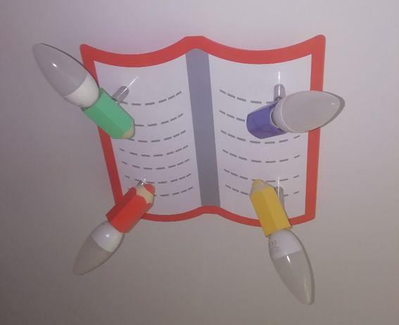 Lampa Sufitowa (Kredki) - Do Pokoju Dziecięcego