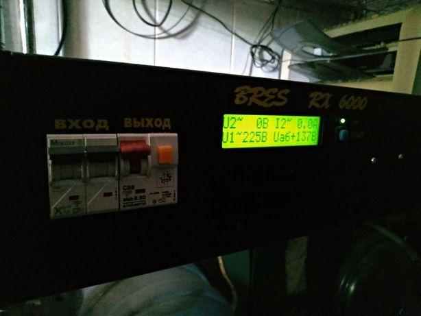 Источник бесперебойного питания (ИБП) BRES RX 6000