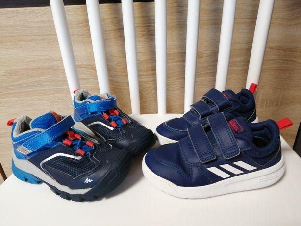 Buty adidas, decathlon quechua 24