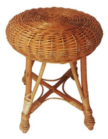 """TABORET WIKLINOWY, stołek """"4"""" ( h 45 cm)"""