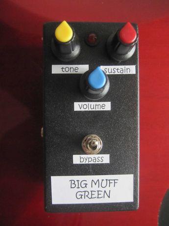 Efekt gitarowy Big Muff Green