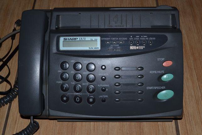 Sharp tel fax