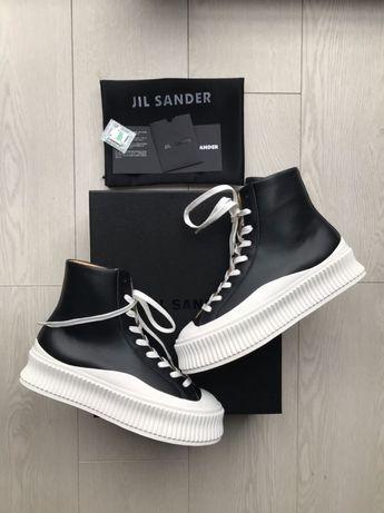 Buty Jil Sander 36-41 Black/White 36-41 damskie trampki