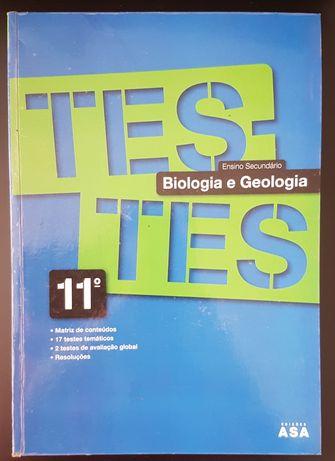 Testes Biologia e Geologia - 11º Ano