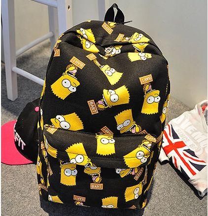 Рюкзак барт симпсоны сумка the simpsons