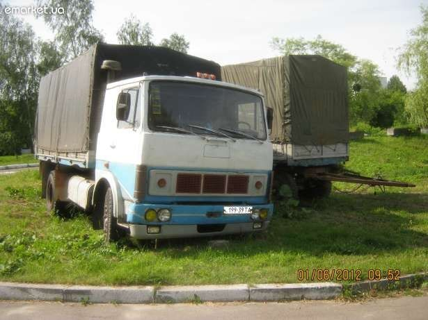 МАЗ бортовий 6-ка, МАЗ -8ка тягач