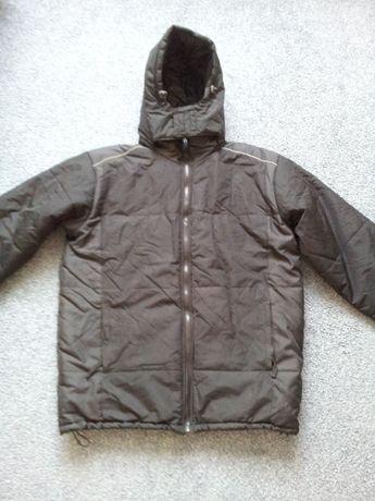 Kurtka męska jesienno/zimowa/ czarna/ rozmiar duże XL