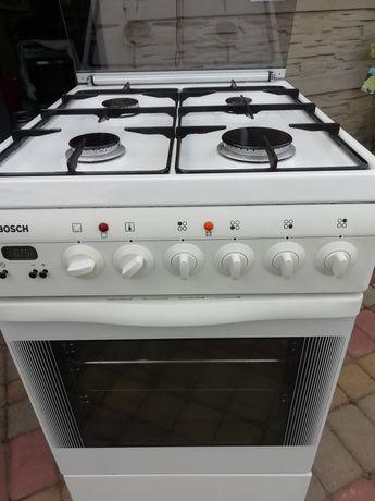 Kuchenka gazowa piekarnik elektryczny z termoobiegiem zapylacze
