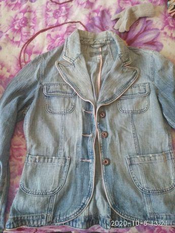 Піджак жіночий джинсовий