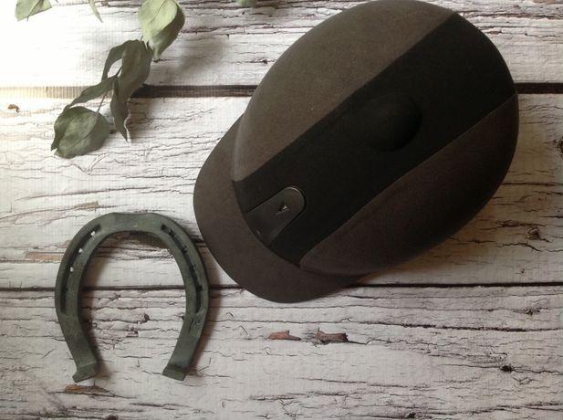Конный шлем (жокейка для верховый езды) новый HKM