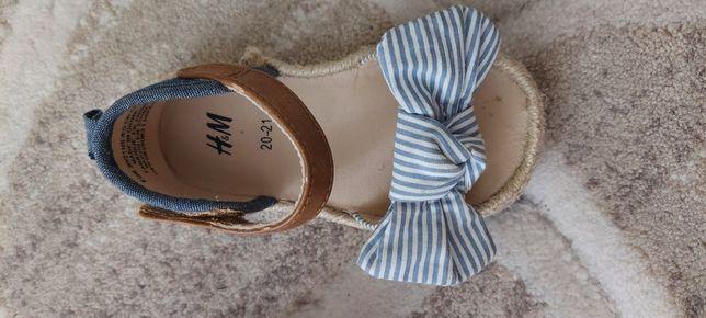 Дитячі тряпчані сандалі