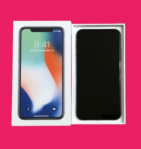 Apple iPhone Х 256GB Silver Neverlock как новый!