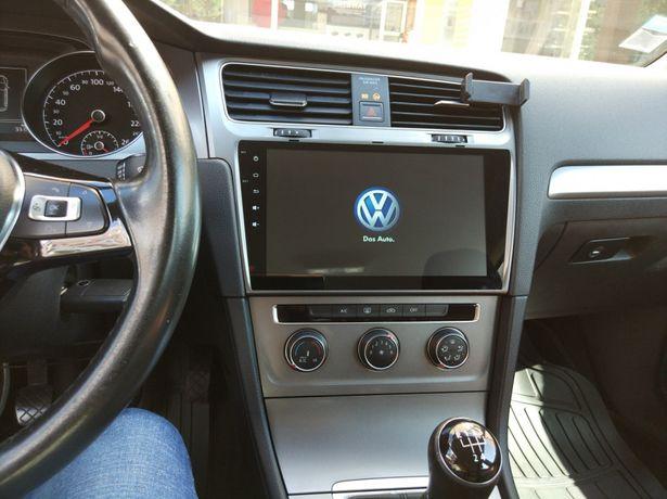 "Auto rádio vw golf 7 VII gps bluetooth wifi monitor com 10,2"" android"