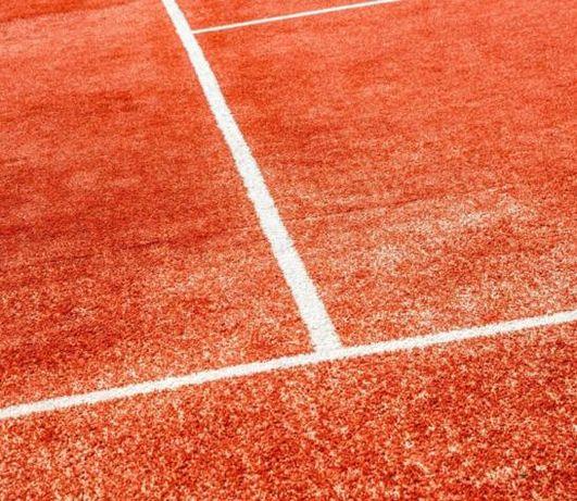 Теннисит – покрытие для теннисных кортов (грунтовый корт).