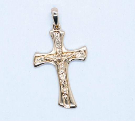 Złoty krzyż NOWY
