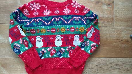 Sweter swiateczny 10 lat