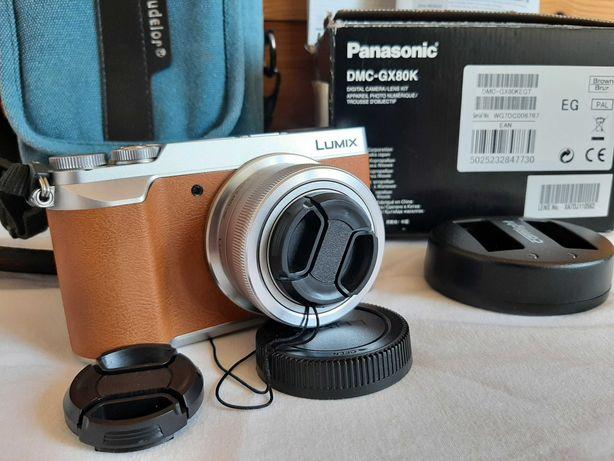 Panasonic GX80 body + obiektyw 12-32, 13,7k zdjęć (nowy to 2,2 tys zł)