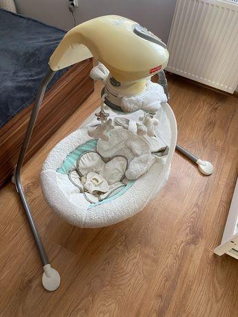 Bujak niemowlęcy. Huśtawka elektryczna Fisher Price