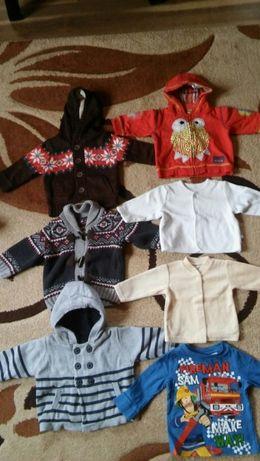 Ubranka dla chłopca r.68-WIELKA PAKA (41 szt.+gratisy)