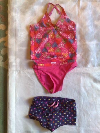 Купальник раздельный и шорты
